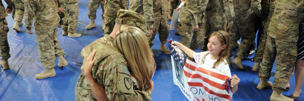 Providing assistance to military families in need